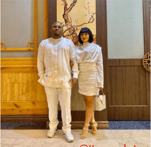 Tonto Dikeh's estranged husband, Olakunle Churchill and Actress Rosy Meurer