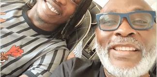 Nairamarley and RMD aboard a flight