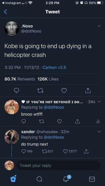 Dot Noso's tweet