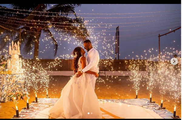 Simi's Pens Sweet Words To Adekunle Gold On Ther First Wedding Anniversary