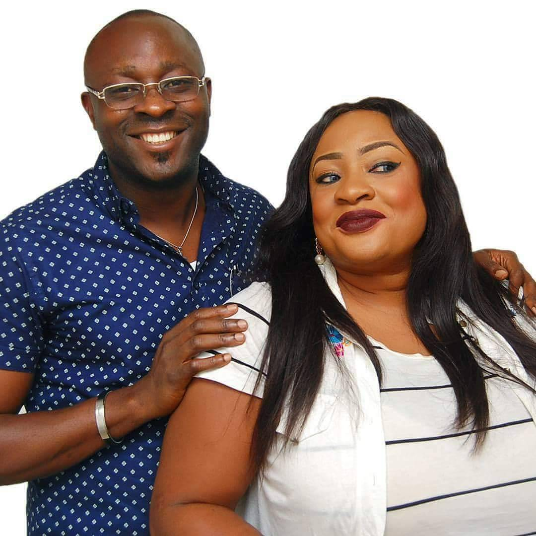 Actress Foluke Daramola And Husband Celebrate 7th-Year Wedding Anniversary