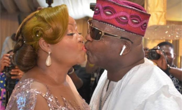 Shina Peters and his wife, Sammie