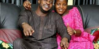 Odunlade Adekola and wife