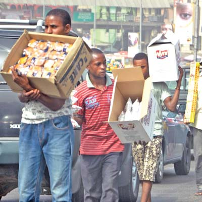 Street Hawkers In Lagos