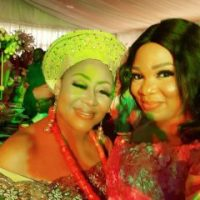 Nollywood Stars Storm The Wedding Of Ngozi Ezeonu's Daughter