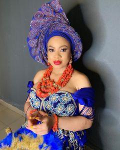 The bride, Nina Ivy