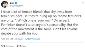 5e53d2358138b - Feminism Makes Many Men Feel So Vulnerable – Simi