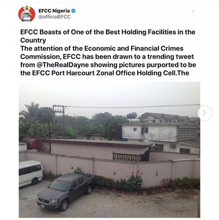 EFCC Cell In Rivers State
