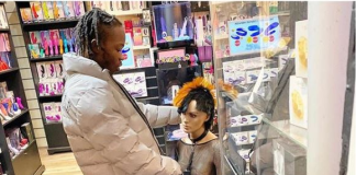 Naira Marley Visits Sex Toy Store (Photo)