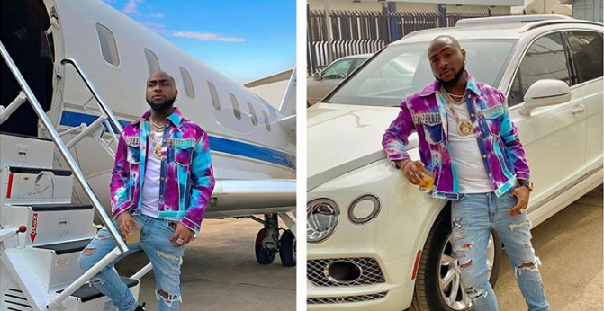 Davido Says He Needs New Automotive, Plane
