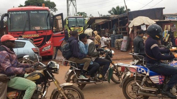 Bike no di respect number for pipo for Yaounde