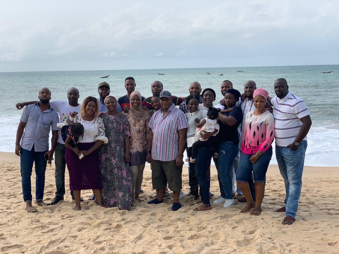 Meet All 9 Daughters Of Veteran Yoruba Actor Adebayo Salami