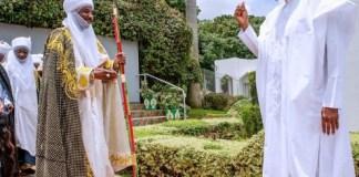 Sanusi and President Buhari