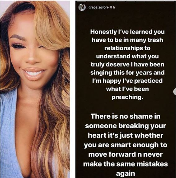 GA - Grace Ajilore Advices Ladies On Dating And Gaining Experience With Men