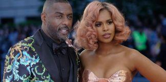Idris Elba and wife