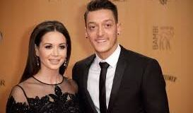 Mesut Ozil And Wife