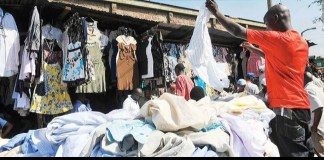 Fairly used clothes market