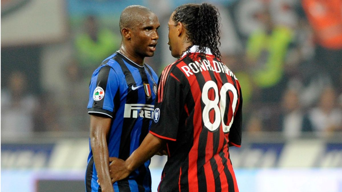 Samuel Eto'o Sends Birthday Message To Ronaldinho In Jail (Video)