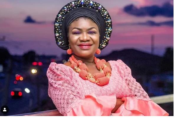 Veteran Actress Joke Muyiwa Shows Off Her New Grandchild