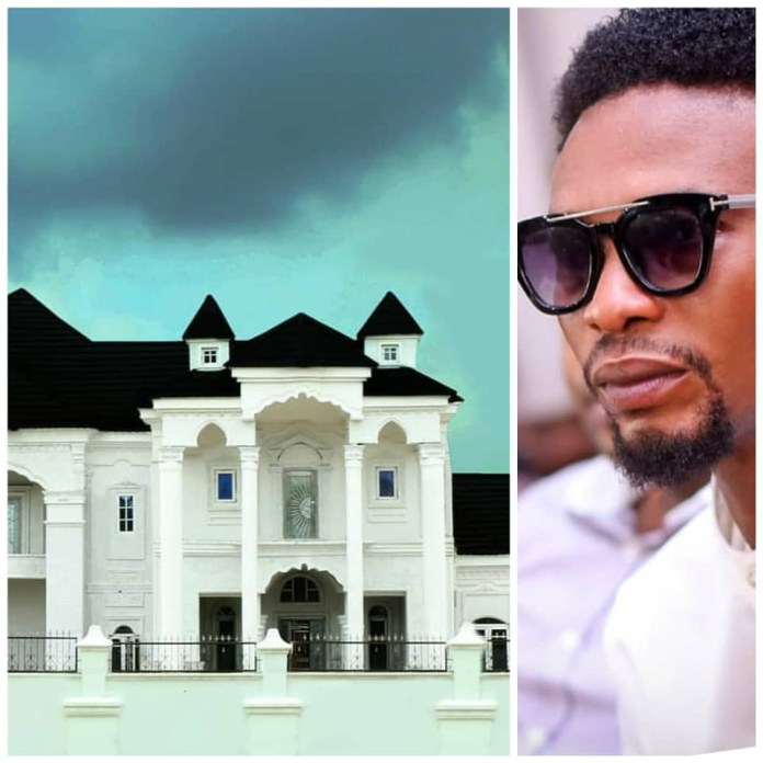 Comedian, I Go Dye and his mansion