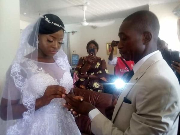 Taraba Couple Marry In Their Living Room Amid Coronavirus Lockdown
