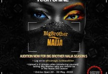 BBNaija audition 2020