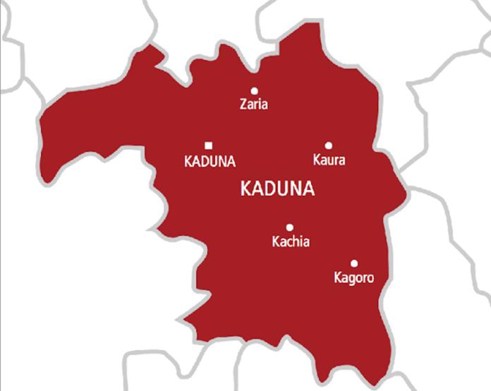 Kaduna on map