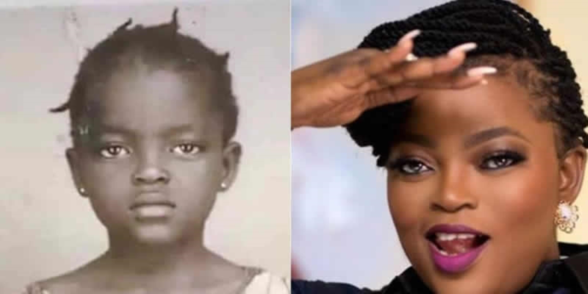 Actress Funke Akindele Shares Throwback Pictures (Photos)