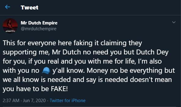Mr Dutch