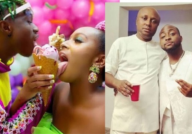 Singer Davido's Aide Davido's Aide, Israel Tackles DJ Cuppy After She Threatened To Sue Him