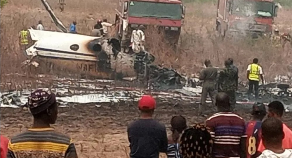6 Dead As Plane Crashes In Abuja (Video)