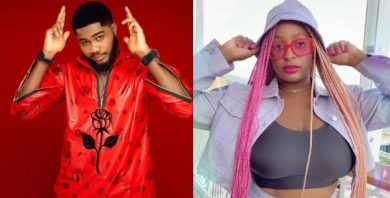 BBNaija's Praise tries his luck for a relationship with DJ Cuppy