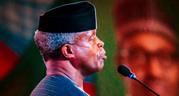 'The Exchange Rate Is Artificially Low' — Osinbajo Asks CBN To Devalue Naira