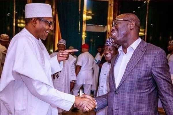 Obaseki Meets Buhari, Asks FG To Fund Edo Ranches
