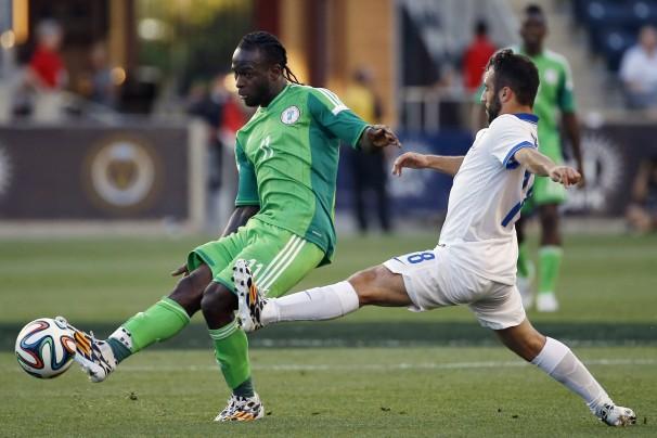 Victor Moses vs Greece
