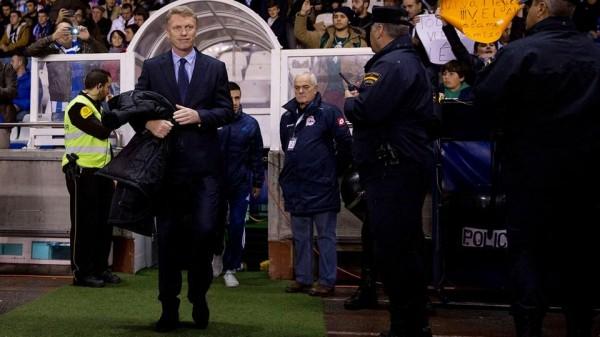 David Moyes Happy With Sociedad Win Over Barca. Image: Getty.