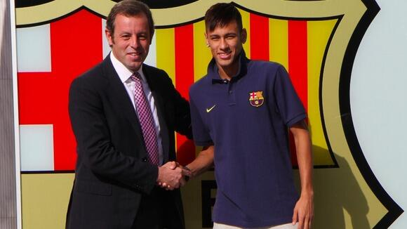 Barca President Josep Bartomeu Says Real Madrid Had a Hand in Neymar ransfer Case. Image: Miguel Ruiz/ Barca.