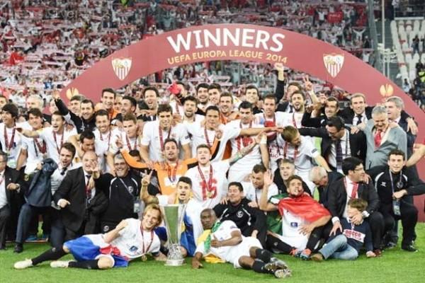 Sevilla Resumes Uefa Europa League Action Against Monchengladbach Next Week. Image: Getty.