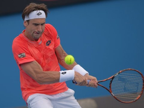 David Ferrer Wins Fourth Mexico Open Title, His Career 24th Title in Acapulco. Getty.