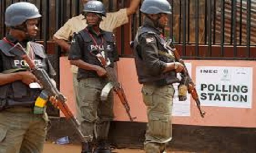 police-polling unit