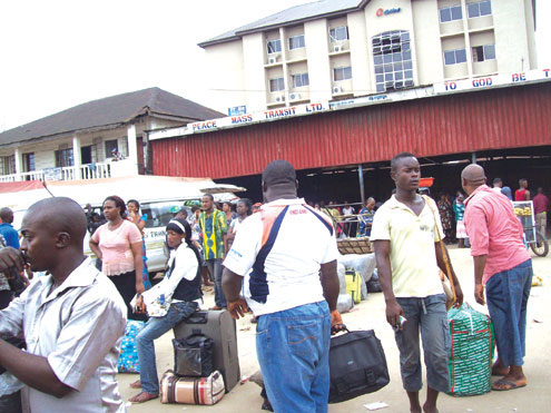 Travelers Stranded At Motor Parks Due To Fuel Scarcity