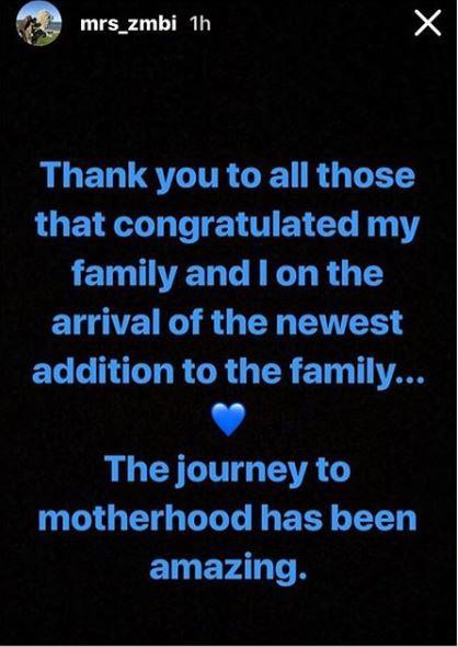 Zahra Buhari thanks Nigerians