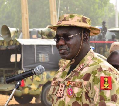 Burutai blames recent Boko Haram attacks on soldiers