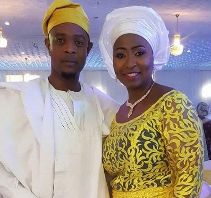 Morayo Brown and her husband