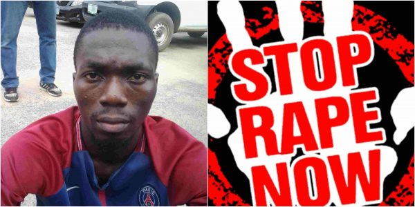 'I raped her so she can respect me' - Suspect confesses