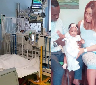 'I forgive him for not being here to love you'- Ehi Ogbebor says as she celebrates daughter's 1st birthday