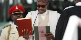 Why Buhari's second term inauguration into office was low-key