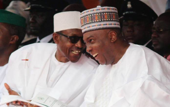 : Buhari And Saraki Meet For The First Time Since 2019 General Elections