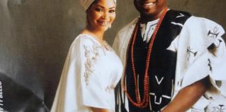 Lagos Monarch, Oba Saheed Elegushi Celebrates Wife Of 16 Years