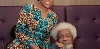 Wole Soyinka, Mo Abudu finally react to the 'plane seat' saga